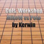 Columbus Workshop MikeW vs Pete reviewed by Kerwin