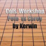 Columbus Workshop Pete vs Corey reviewed by Kerwin