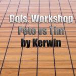 Columbus Workshop Pete vs Tim reviewed by Kerwin