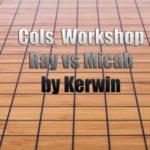 Columbus Workshop Ray vs Micah reviewed by Kerwin